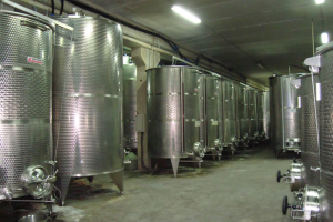 Ta' Mena Stainless steel tanks.