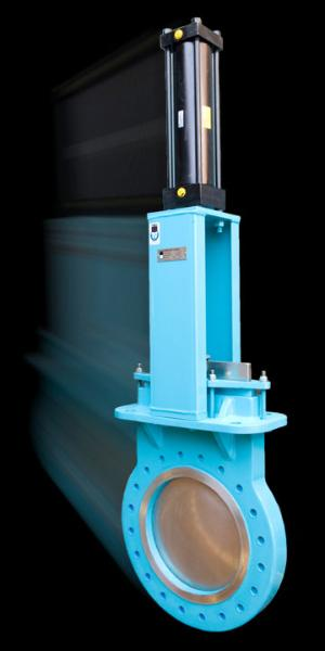 Knife Gate Valve - Fabricast Valves made in the USA